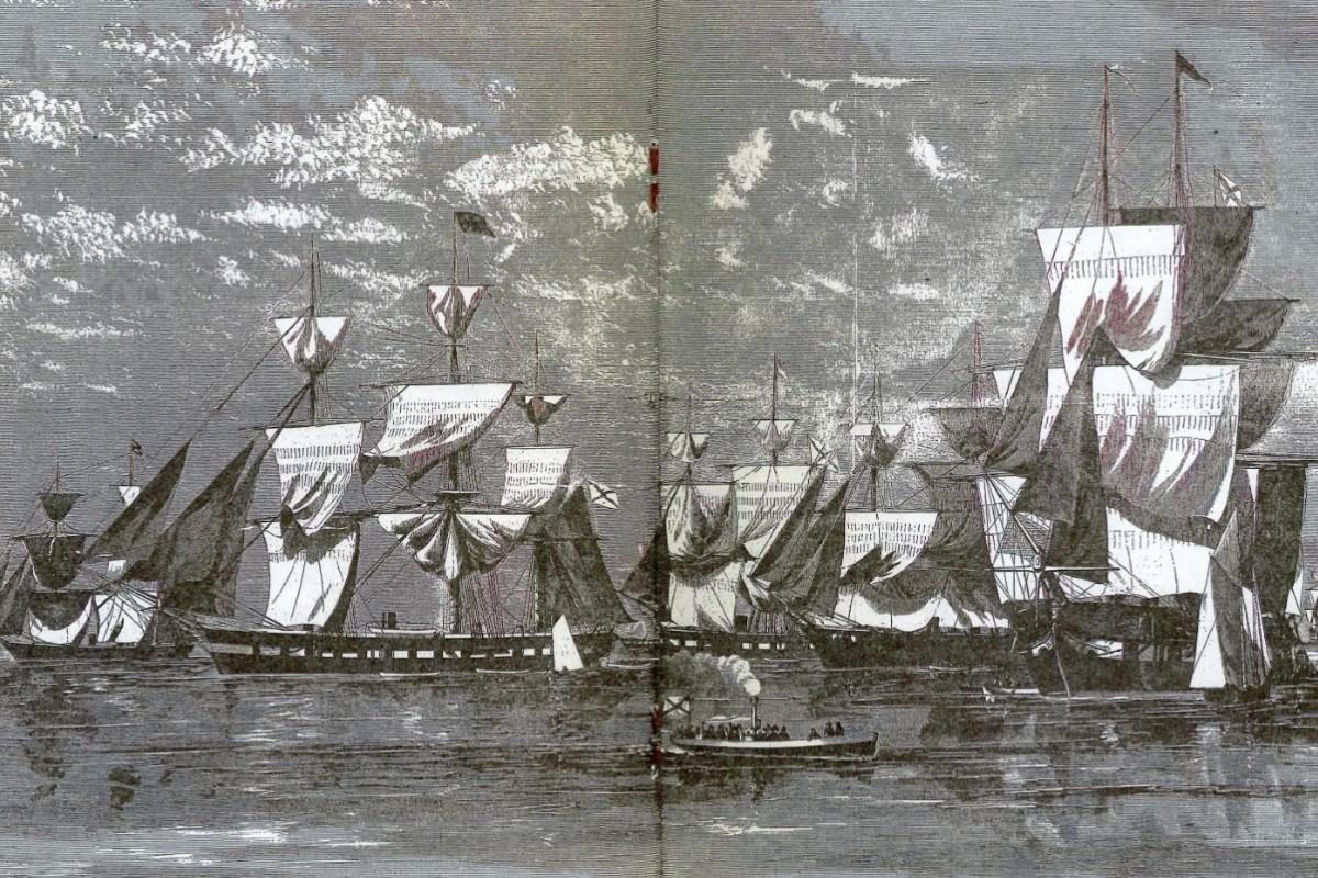 Ruska ratna mornarica u luci u Njujorku (Foto: history.navy.mil)