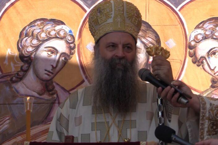 Patrijarh Porfirije u Gračanici: Vidovdan nas uči da biramo veru, a ne večeru
