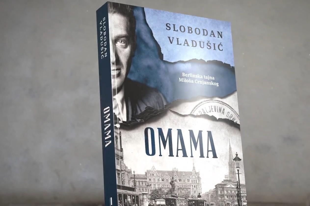 """Knjiga """"Omama"""" Slobodana Vladušića (Foto: Snimak ekrana/Jutjub/Laguna)"""