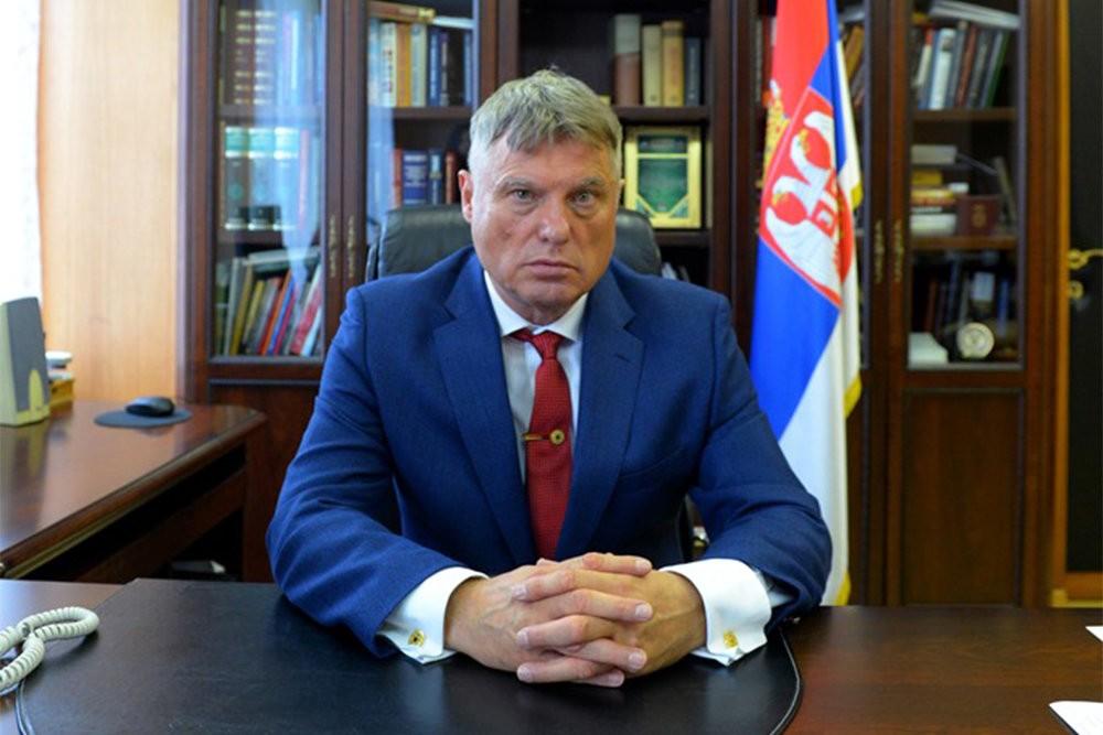 Ambasador Srbije u Rusiji Miroslav Lazanski (Foto: Tviter/Ambasada Srbije u Rusiji)