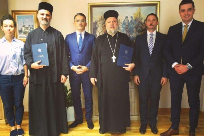 Mitropolija i Eparhija SPC registrovane u Crnoj Gori