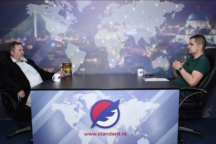 "Slobodan Stojičević: Rusija pravi epohalni projekat ""digitalni štit za 21. vek"""