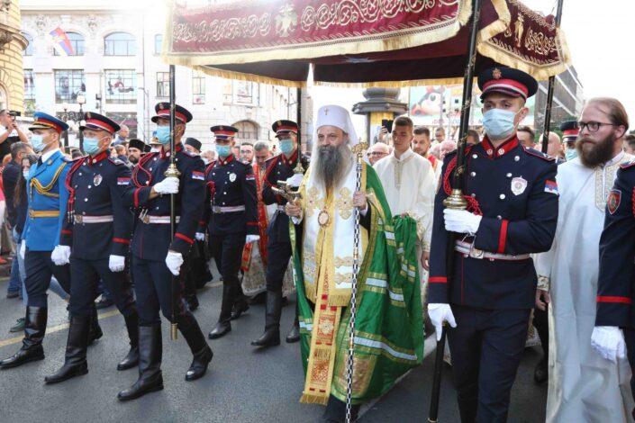Više desetina hiljada Beograđana u Spasovdanskoj litiji (FOTO)