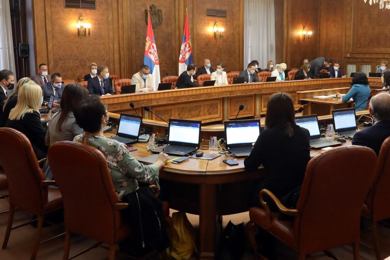 Prva sednica aktuelne Vlade Srbije, Beograd, 29. oktobar 2020. (Foto: Tanjug/Vlada Republike Srbije/Slobodan Miljević)