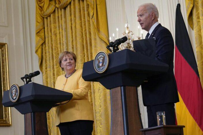 Jesu li Merkelova i Bajden pustili Ukrajinu niz vodu?