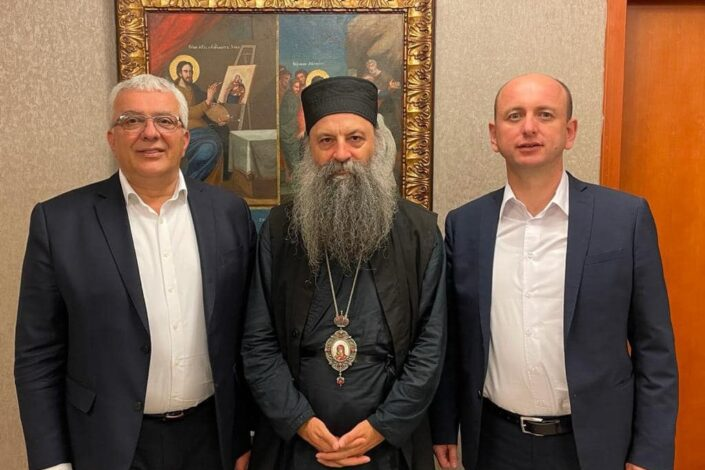 Lideri DF-a: Dobili smo blagoslov patrijarha da branimo srpske interese u vladi
