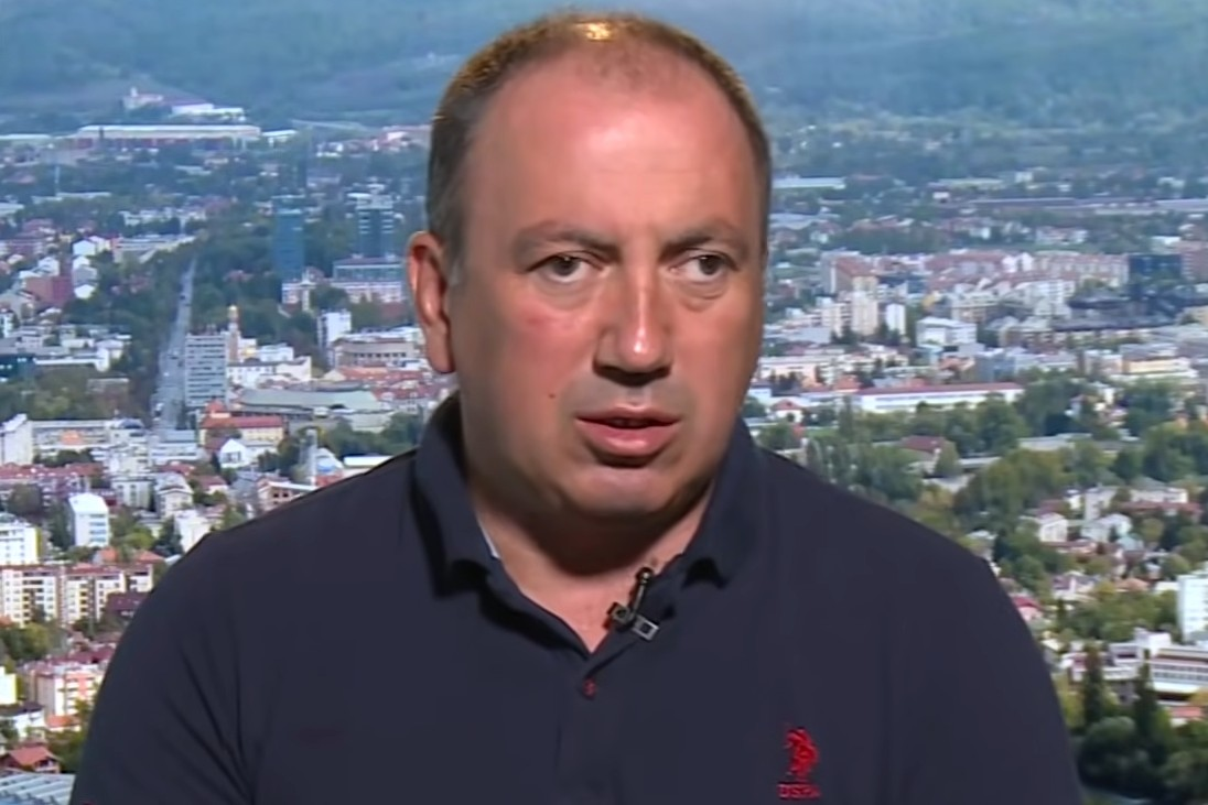 Potpredsednik Partije demokratskog progresa (PDP) Igor Crnadak (Foto: Snimak ekrana/Jutjub/N1)