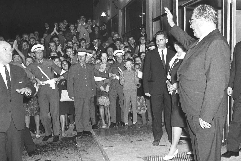 Josip Broz Tito u poseti Mariboru, 02. septembar 1966. (Foto: Wikimedia/Večer, 323071)