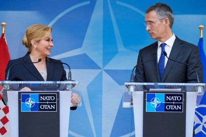 Mediji: Kolinda favorit za novu šeficu NATO-a