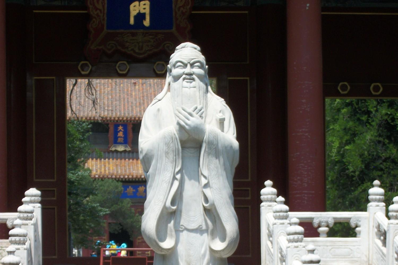 Statua Konfucija u Hramu Konfucija u Pekingu (Foto: Wikimedia/Mx. Granger, CC0 1.0)