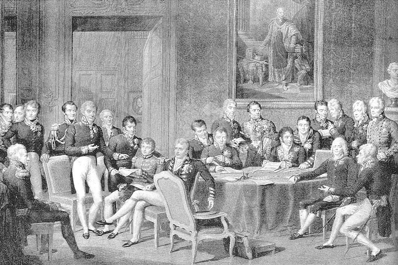 """Žan-Baptist Isabej, """"Bečki kongres"""", 1819. (Foto: Wikipedia)"""