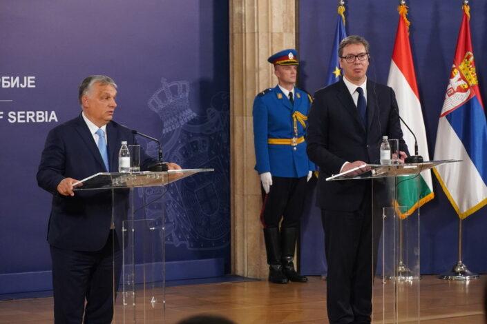 Orban u Beogradu: Srbija je ključna zemlja, to treba da bude jasno EU