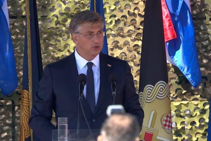 Plenković iz Knina poslao poruku Srbiji, odgovorili Vučić i Vulin