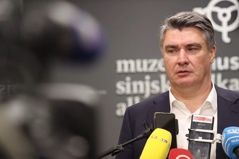 Predsednik Hrvatske Zoran Milanović (Foto: Snimak ekrana/Jutjub/CROPIX)