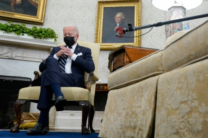 Bajden zaspao tokom sastanka sa premijerom Izraela (VIDEO)