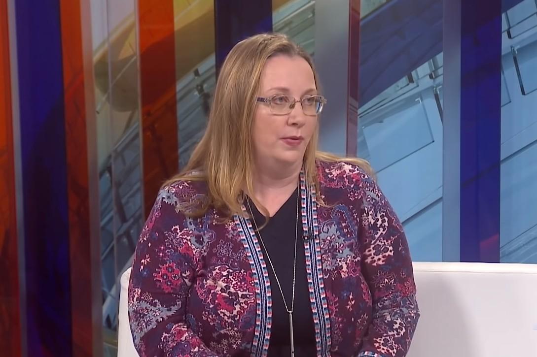 Direktorka Beogradskog centra za bezbednosnu politiku (BCBP) Sonja Stojanović Gajić (Foto: Snimak ekrana/Jutjub/N1)