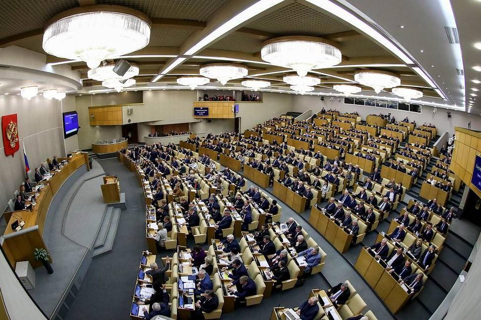 Ruska Državna duma (Foto: Anton Novoderezhkin/TASS)