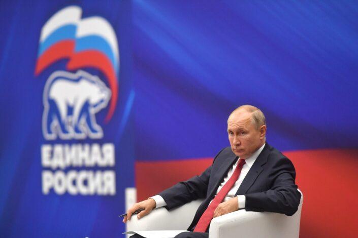 Jedinstvena Rusija i izbori za Dumu