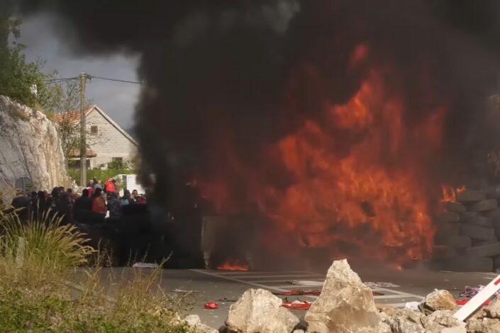 Ruska crkva o dešavanjima na Cetinju: Neredi organizovani iz inostranstva