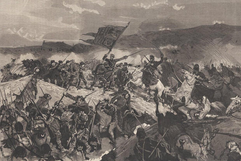 Bitka na Đunisu 1876. godine (Foto: Wikimedia)
