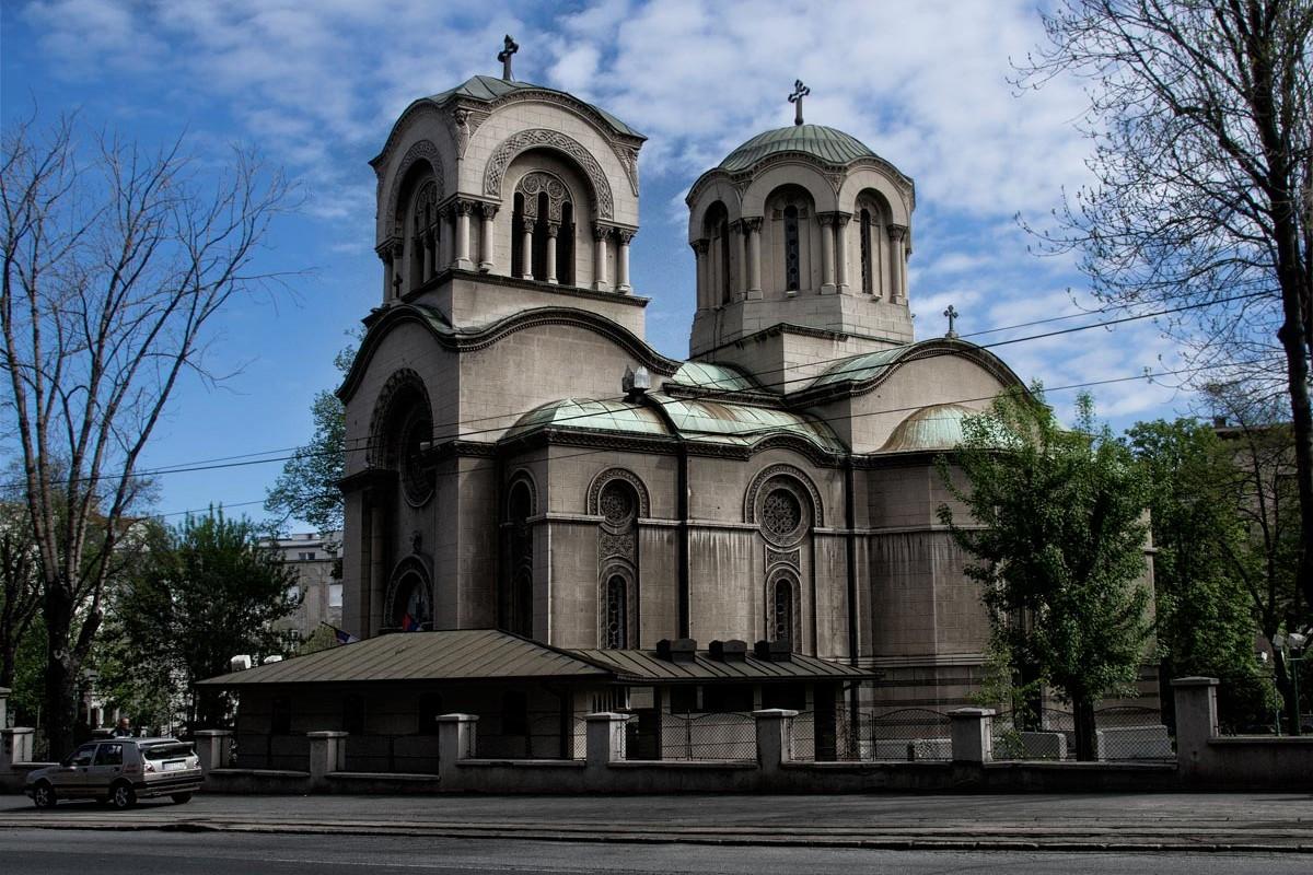 Crkva Svetog Aleksandra Nevskog na Dorćolu u Beogradu (Foto: Wikimedia/Jablanov, CC BY-SA 3.0)