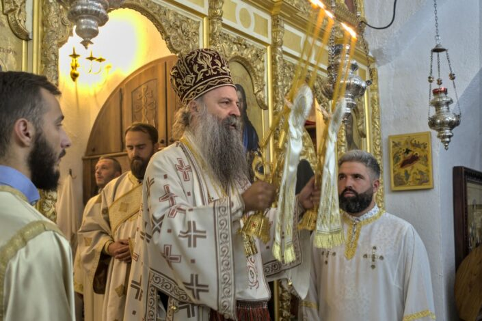 Patrijarh Porfirije: Različiti faktori, domaći i strani, u Crkvi vide nerpijatelja