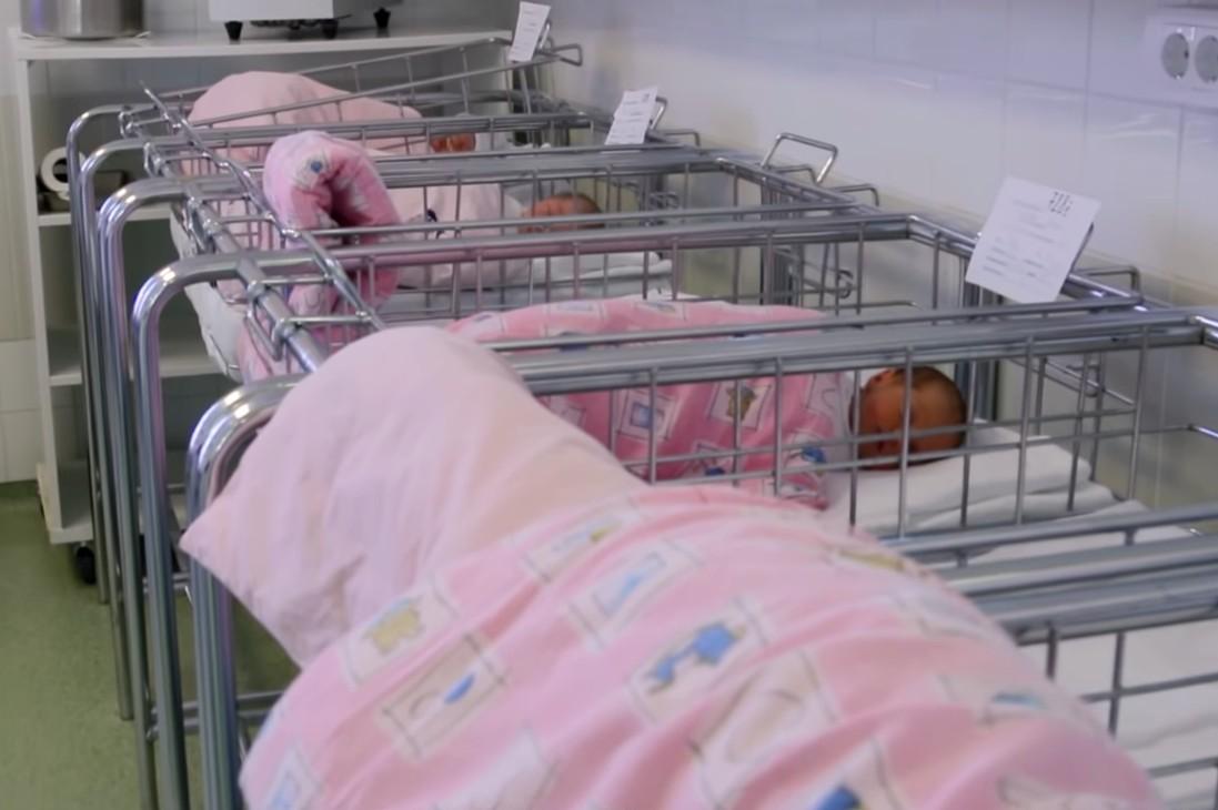 Бебе у ГАК Народни фронт (Фото: Снимак екрана/Јутјуб/Narodni Front)