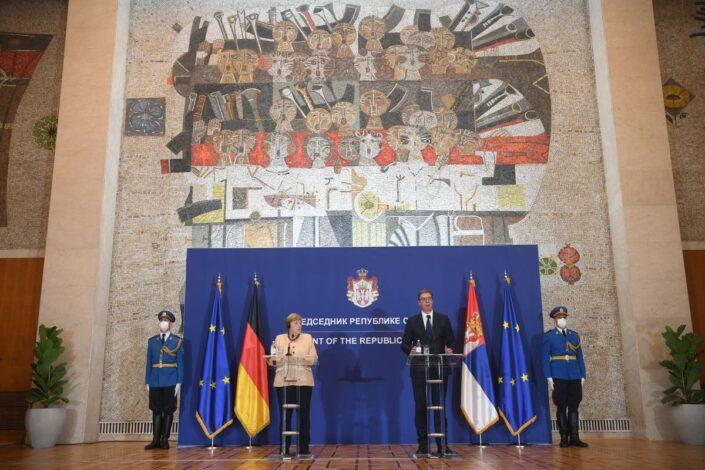 Šta je zapravo poručila Angela Merkel u Beogradu?