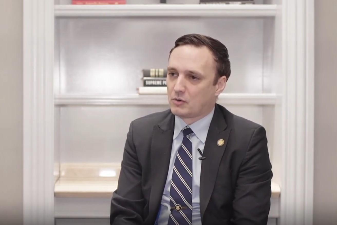 Николас Чаилан, бивши шеф за софтвер Пентагона (Фото: Снимак екрана/Јутјуб/FedScoop)