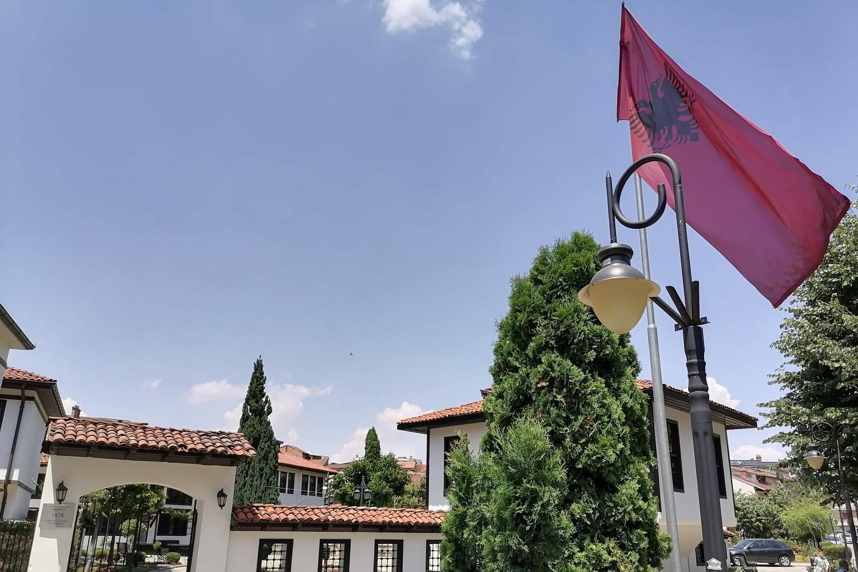 Zgrada u Prizrenu u kojoj je formirana Prizrenska liga (Foto: Radomir Jovanović/Novi Standard)