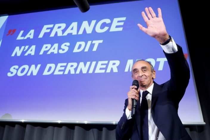 Velika promena na francuskoj desnici, Zemur prestigao Le Penovu